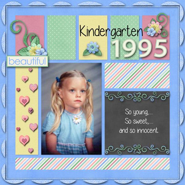 Kindergarten 1995