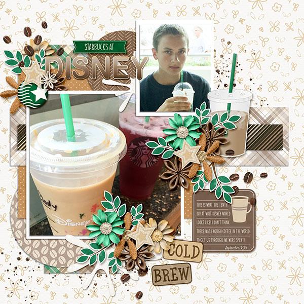 Starbucks at Disney
