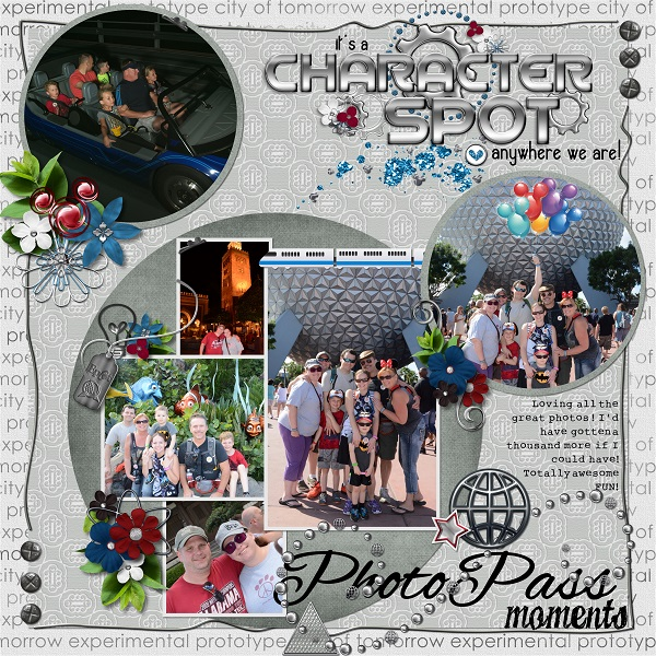 Photo pass moments