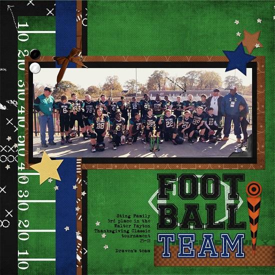 Draven's football team