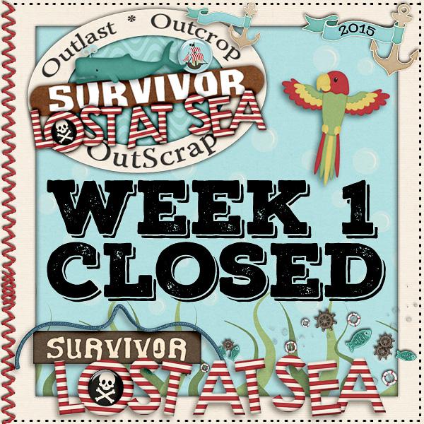 *Lost At Sea* Week 1 CLOSED