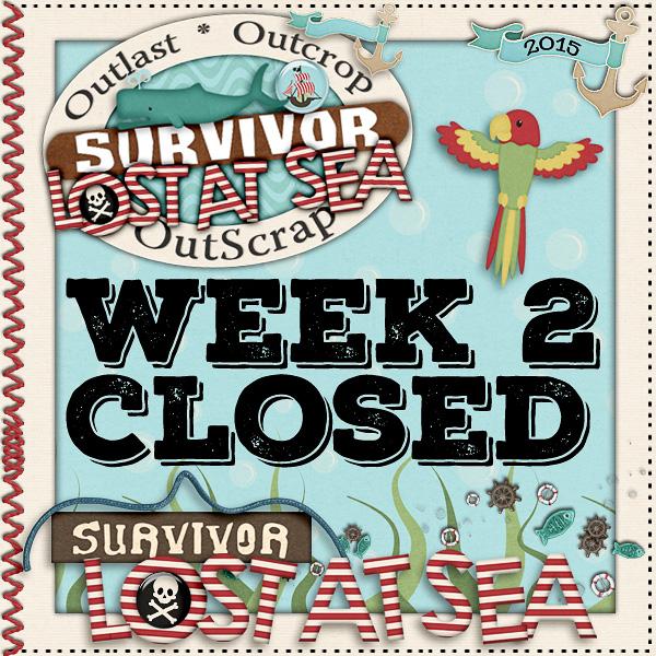 *Lost At Sea* Week 2 CLOSED