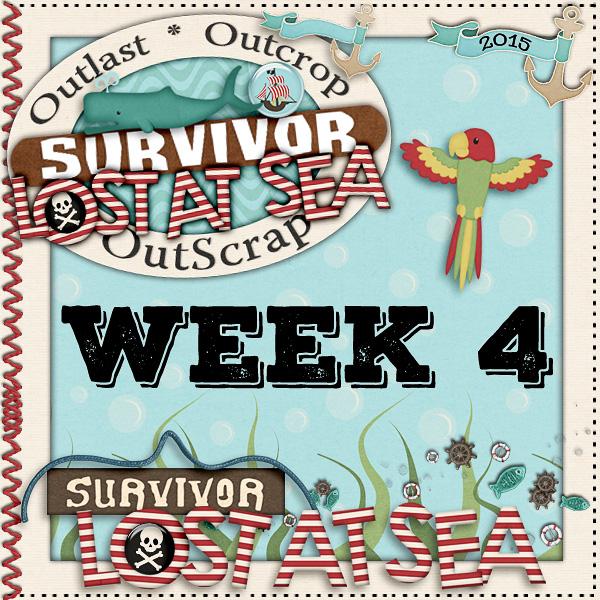 Survivor *Lost At Sea* Week 4