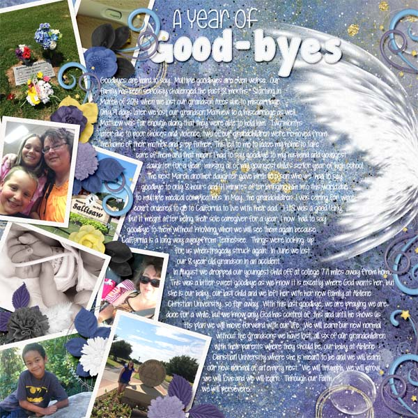 A year of Good-byes