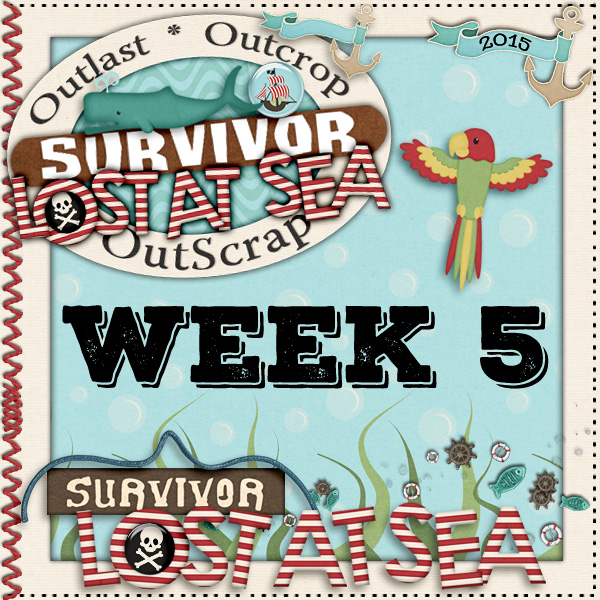 Survivor *Lost At Sea* Week 5