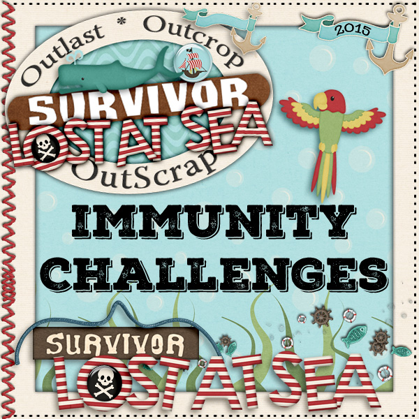 Survivor *Lost At Sea* Immunity