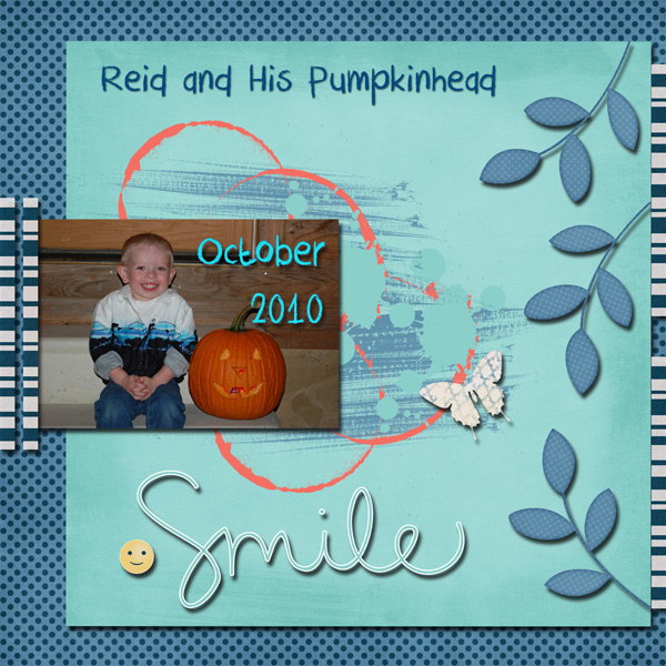 Reid and His Pumpkinhead