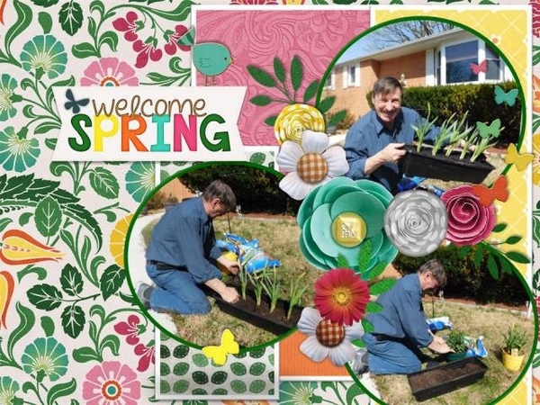 Spring Plantings - April 2016 Desktop Challenge