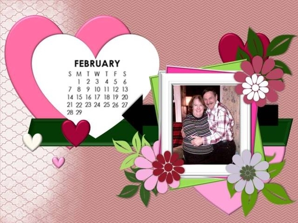 Valentines Day - January 2016 Desktop Challenge