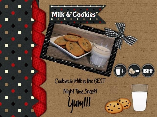 Milk and Cookies - March 2016 Font Challenge