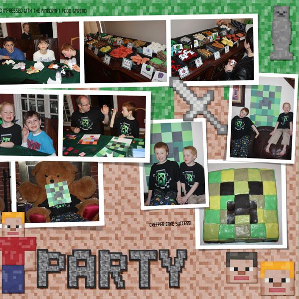 2015 Minecraft Bday