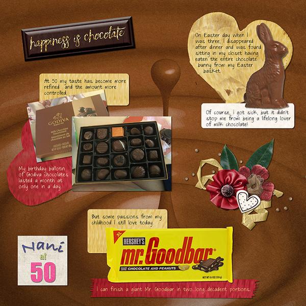 Nani at 50 - Chocolate