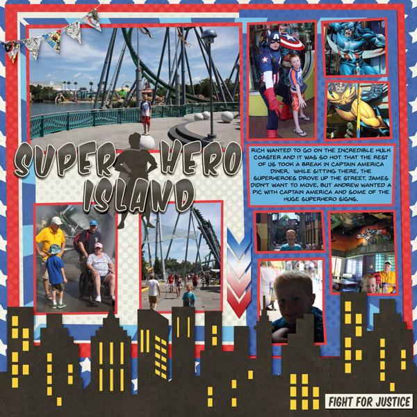 2015 Super Hero Island