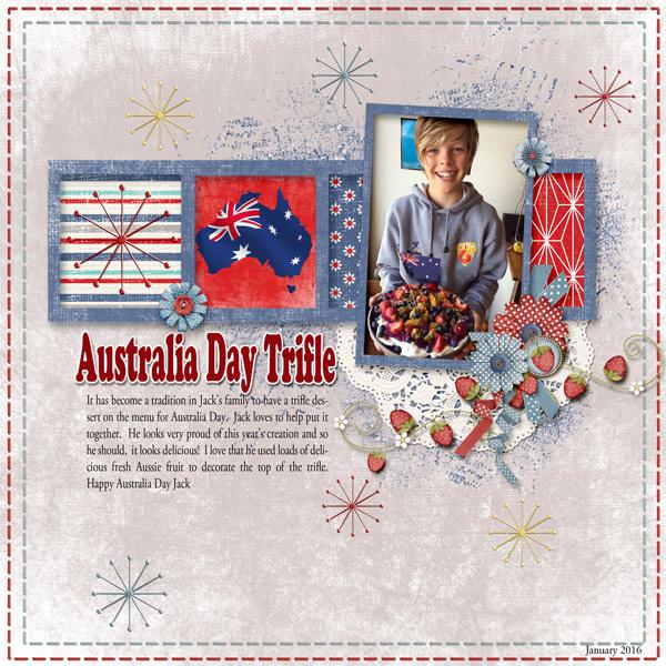 Australia Day Trifle