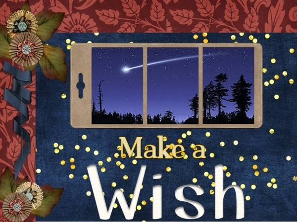 Make A Wish - March 2016 Mix It Up Challenge