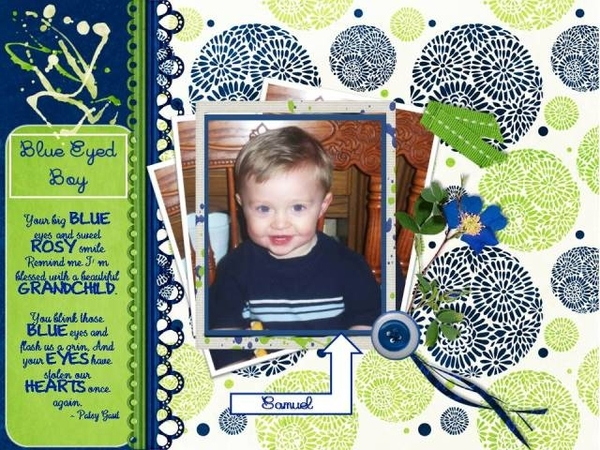 Blue Eyed Boy - March 2016 Daily Download Challenge