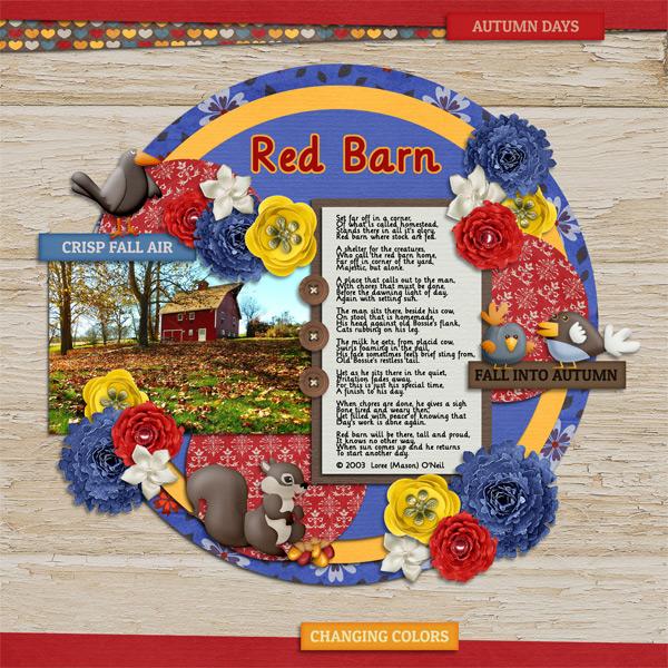 1116 Little Red Barn
