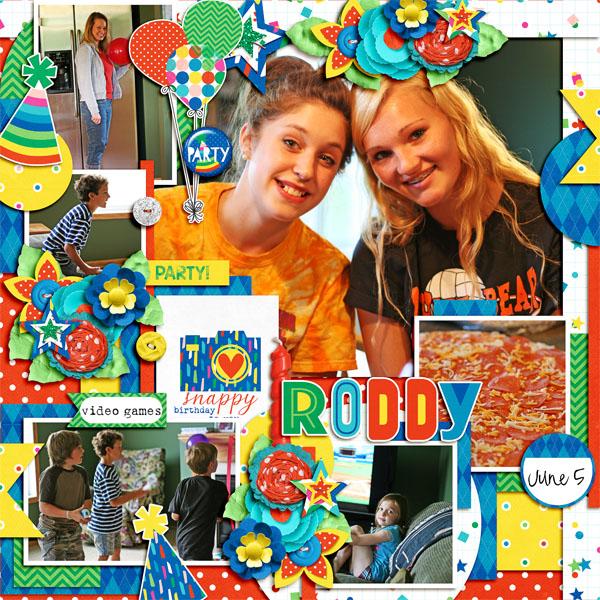 Snappy Birthday Roddy
