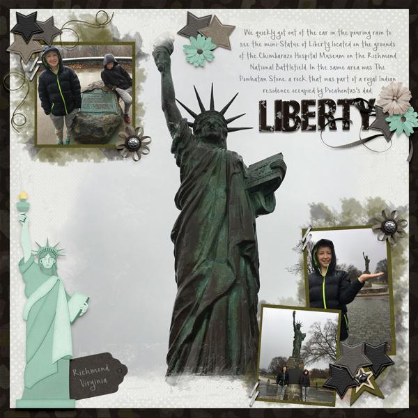 2018 Mini Statue of Liberty