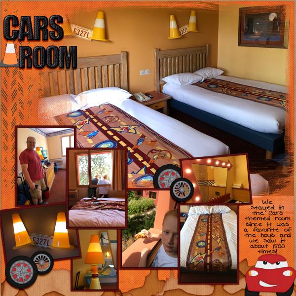 2018 Cars Room