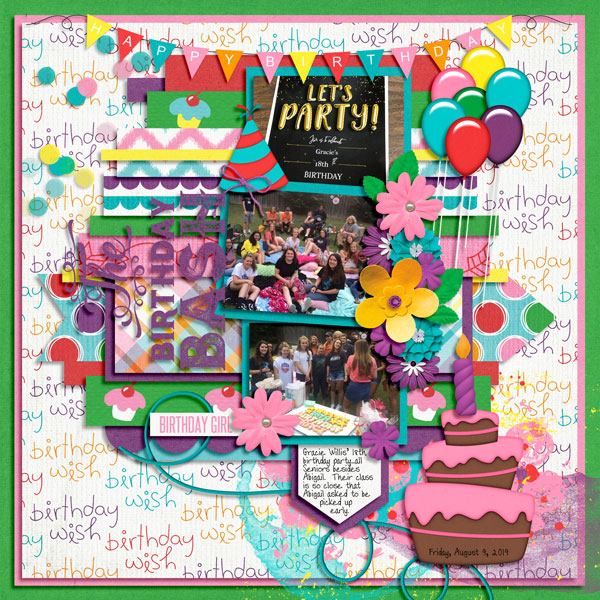 Gracie's 18th Birthday Party - 8.9.19