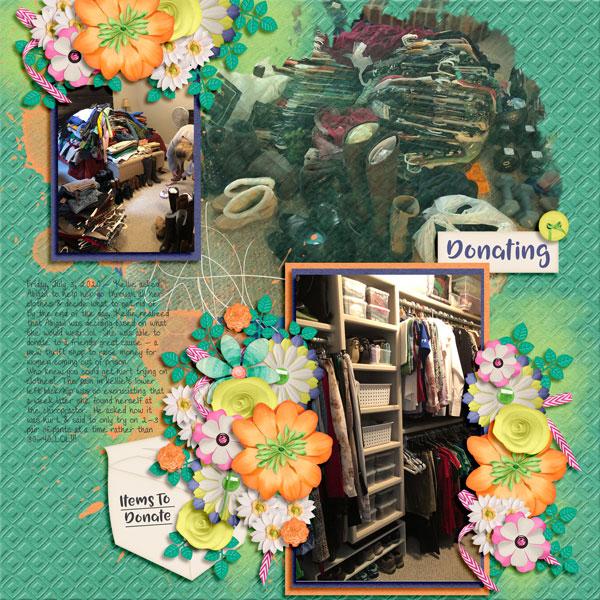 Decluttering closets 7.3.20
