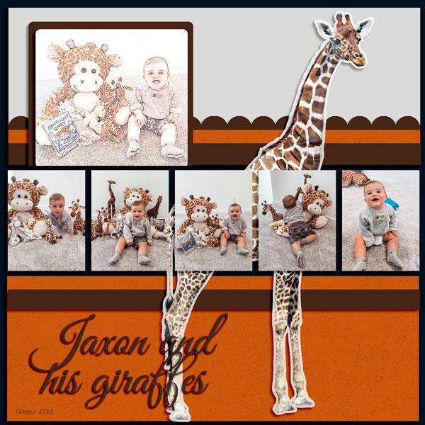 Jaxon & His Giraffes 10.10.20