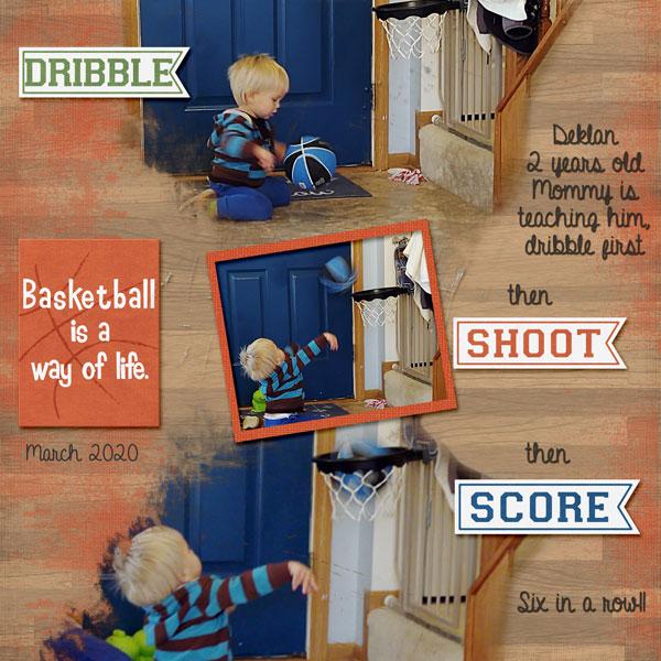 Basketball at two