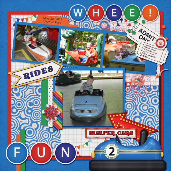Fun at the Amusement Park