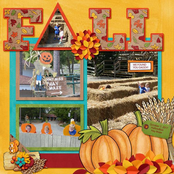Fall Maze Fun