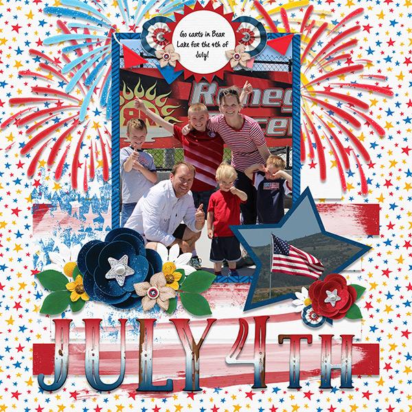 July 4th Go carts