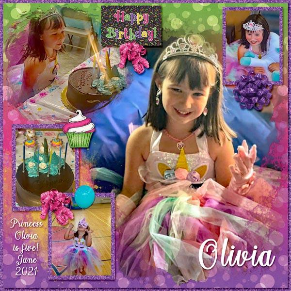 Princess Olivia turns 5