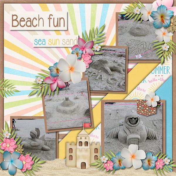 Beach Dayz - September Clusters 01
