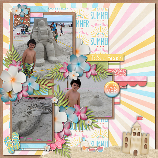Beach Dayz - September Clusters 02