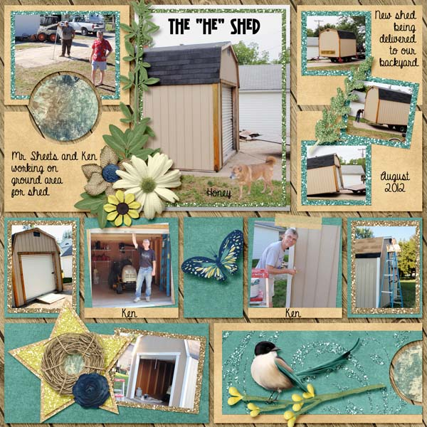 The HE Shed