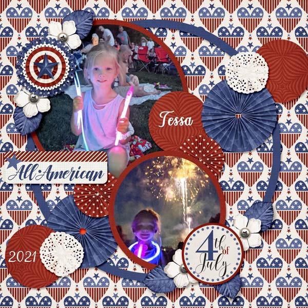 Happy 4th Tessa