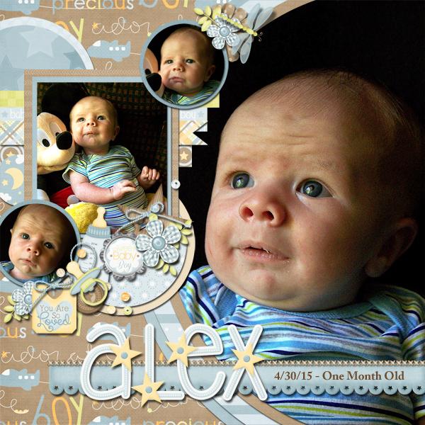 Alex One Month