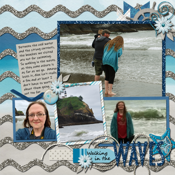 Walking in the Waves