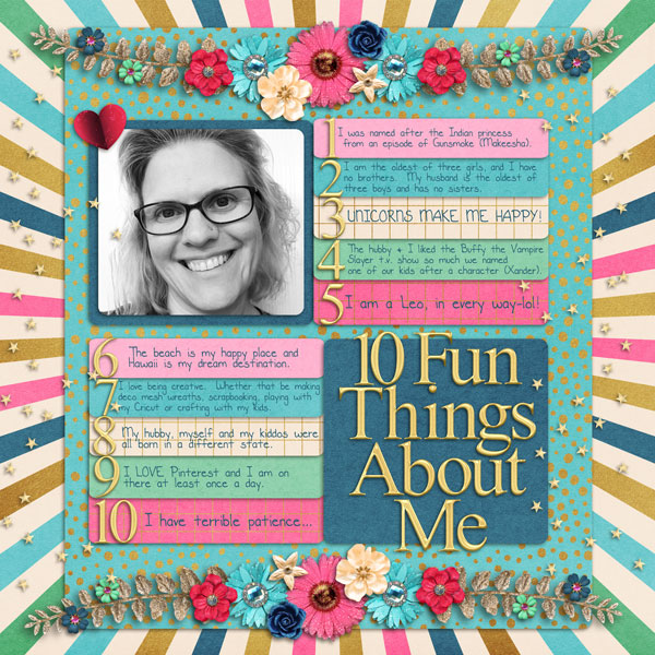 10 Fun things About Me