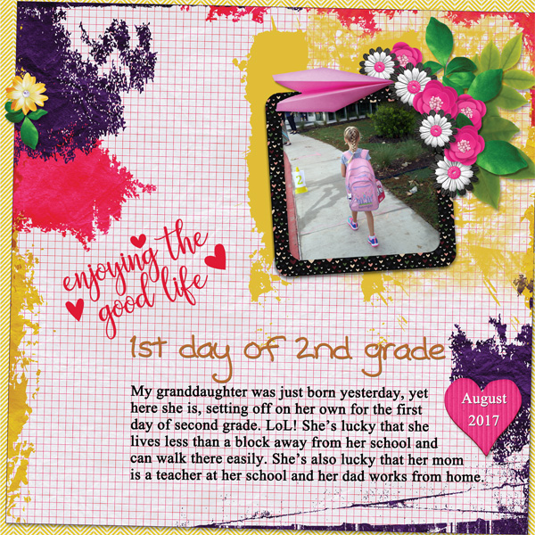 0817 First day of second grade