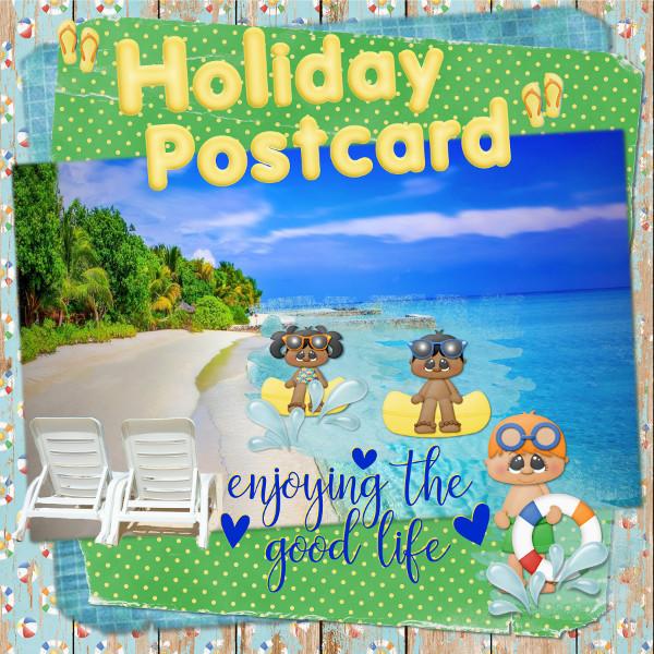 """Holiday Postcard"""
