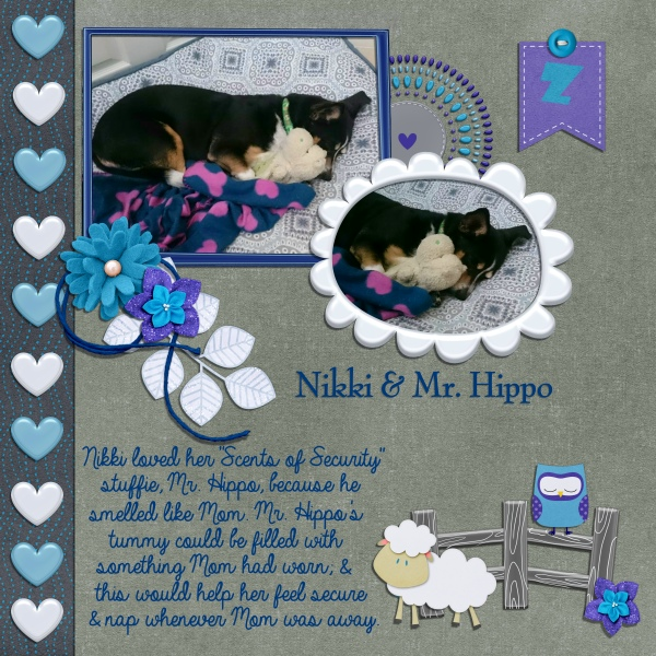 2017_10 Daily Download Challenge _Nikki & Mr. Hippo