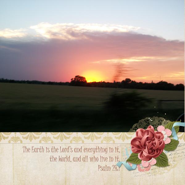 Psalm 24:1