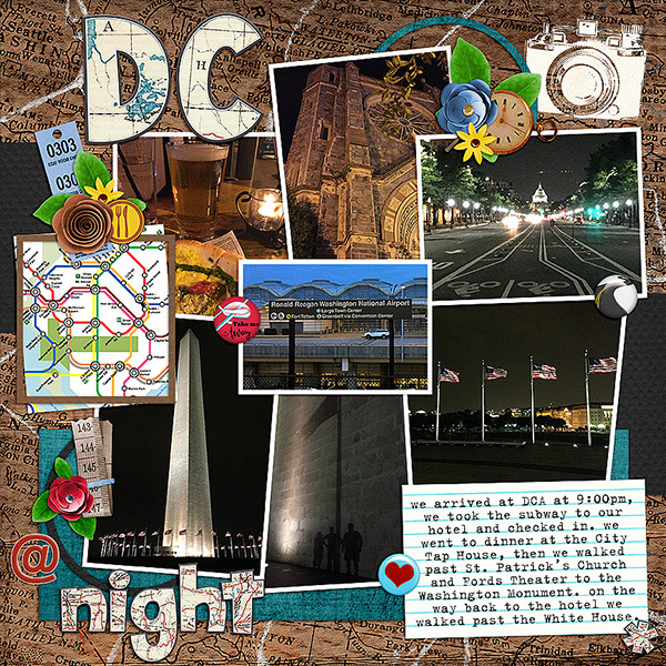 DC at Night