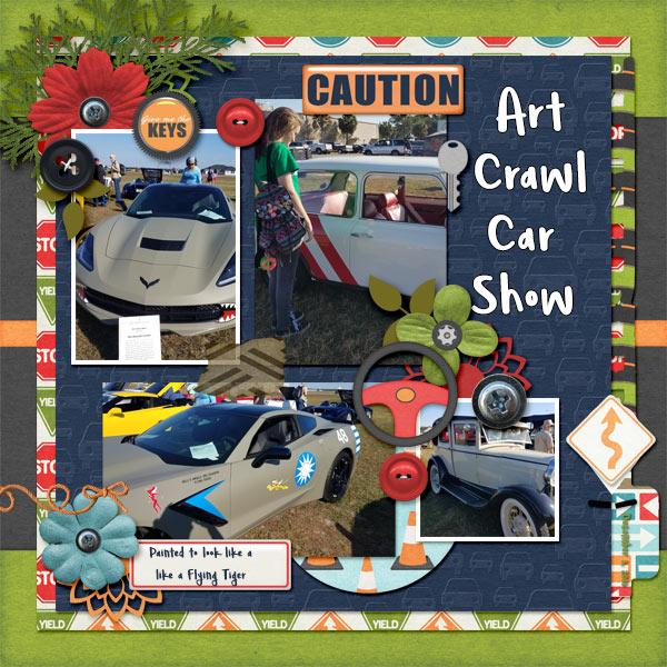Art Crawl - Car Show