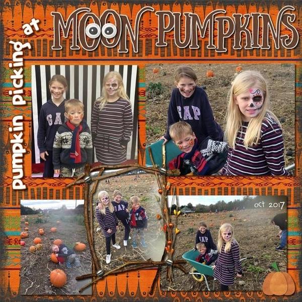 Pumpkin Picking at Moon Pumpkins