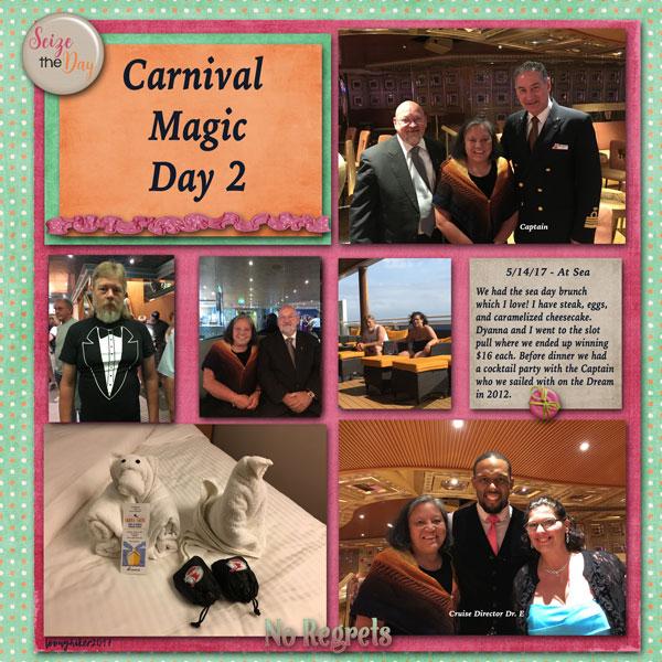 Carnival Magic Day 2