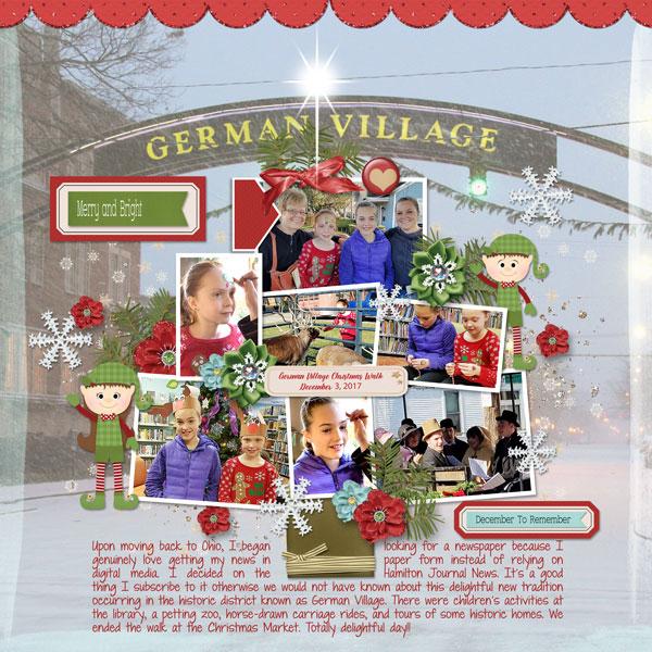 German Village Walk