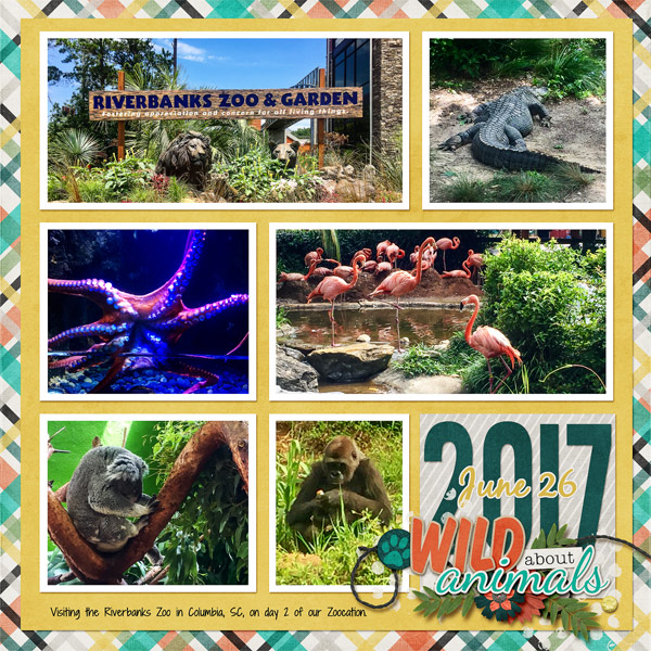 July 2017 Mix It Up Challenge, Riverbanks Zoo