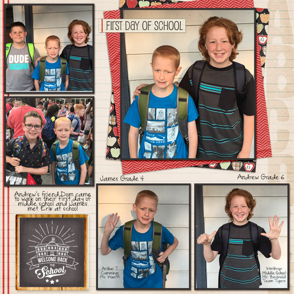 2017 First Day of School